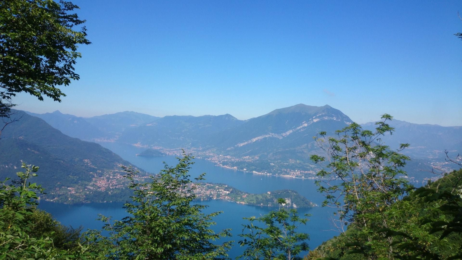 Lago di como da Ortanella