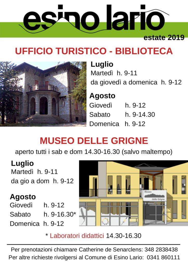 ORARI Museo e Villa Clotilde