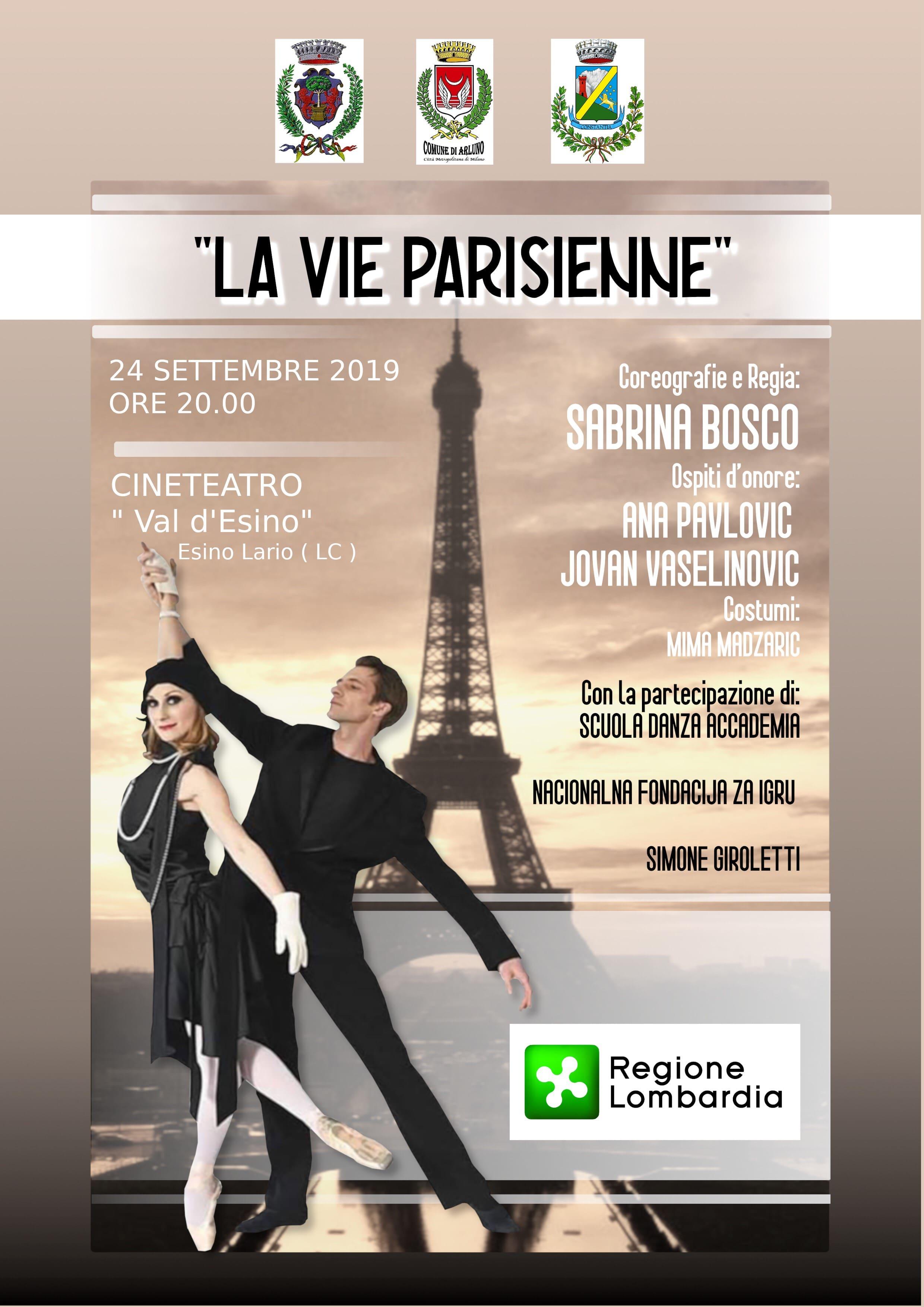 Locandina spettacolo - La vie parisienne