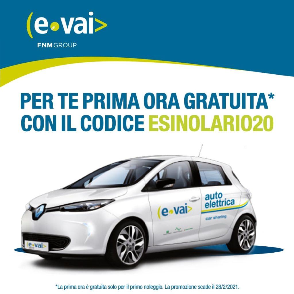 Ora gratuita E-Vai Esino Lario